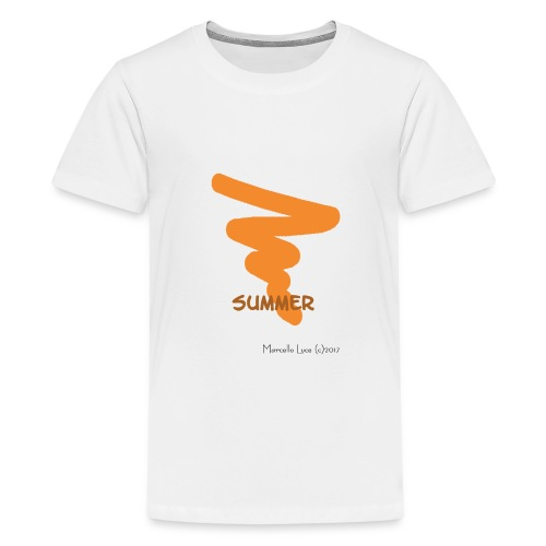 Streetworker Art by Marcello Luce - Summer 2017 - Teenager Premium T-Shirt