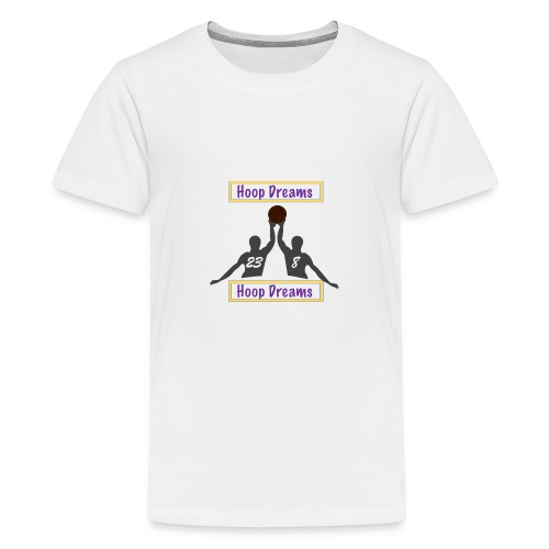 Basketball Shirt Hoop Dreams, Ball is Life SMK - Teenager Premium T-Shirt