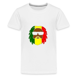 AFROJAZZ RED-GOLD-GREEN - T-shirt Premium Ado