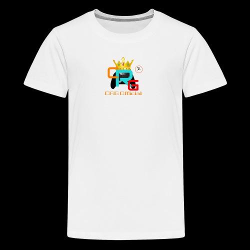 CRG Team Top - Teenage Premium T-Shirt