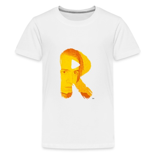 RaG Gaming™ small logo - Premium T-skjorte for tenåringer