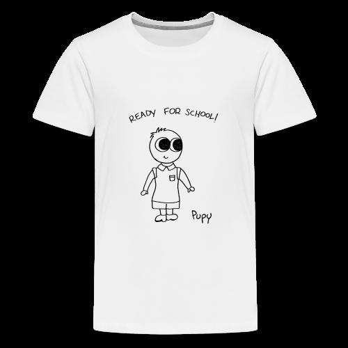 Pupy: ready for school! boy - Maglietta Premium per ragazzi