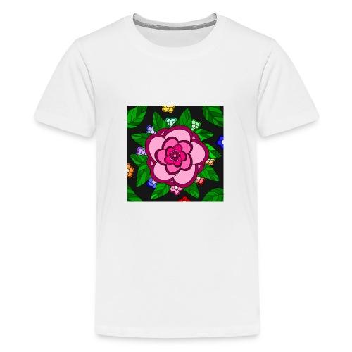 Flower Power - Teenager Premium T-Shirt