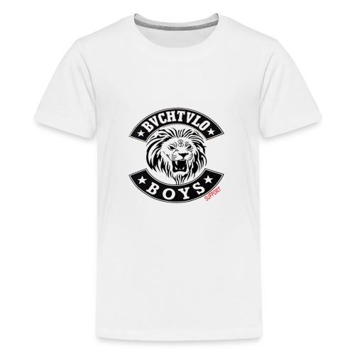BVCHTVLO BOYS SUPPORT - Teenager Premium T-Shirt