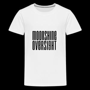 Moonshine Oversight noir - T-shirt Premium Ado