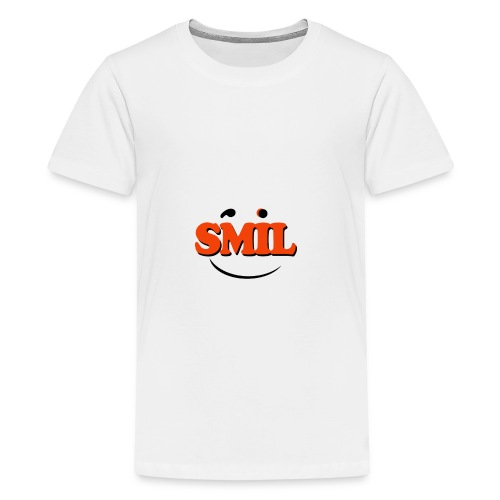SMIL - Teenager premium T-shirt