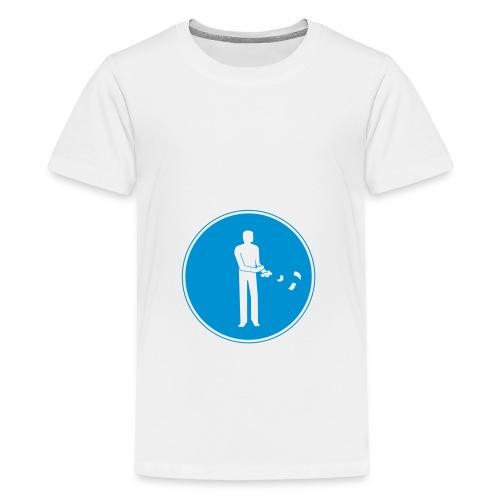 Streetsign#1 - Teinien premium t-paita