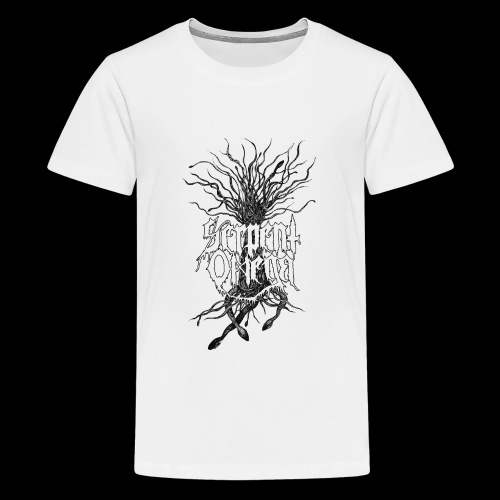 Serpent Omega- Ormträd - Premium-T-shirt tonåring