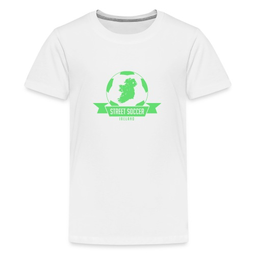 Street Soccer Ireland - Teenage Premium T-Shirt