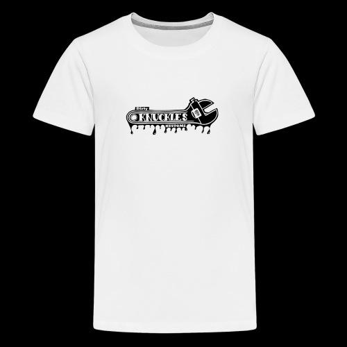 Dirty Knuckels Kustom wrench - Premium-T-shirt tonåring