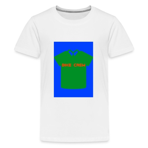 Bike Crew Merch (grün) - Teenager Premium T-Shirt