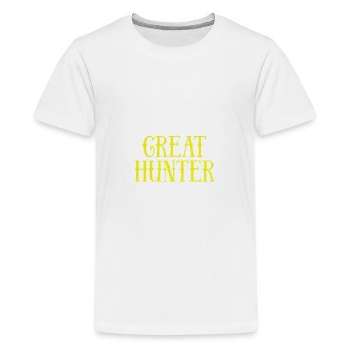 great hunter - Koszulka młodzieżowa Premium