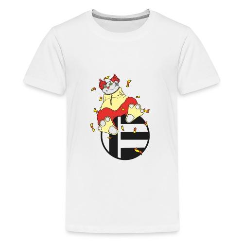 Katze Clown - Teenager Premium T-Shirt