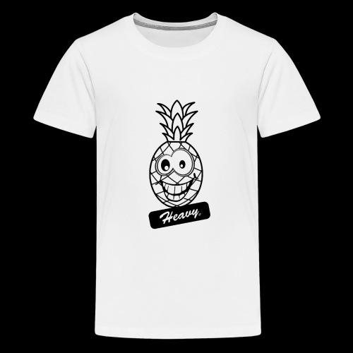 Design Ananas Heavy - T-shirt Premium Ado