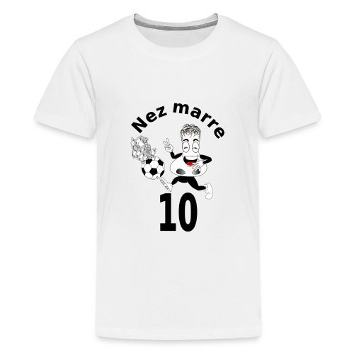 Nez marre football humour FC - T-shirt Premium Ado