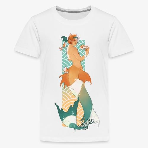 Meermin en goudvissen - RomyvdHel - Teenager Premium T-shirt