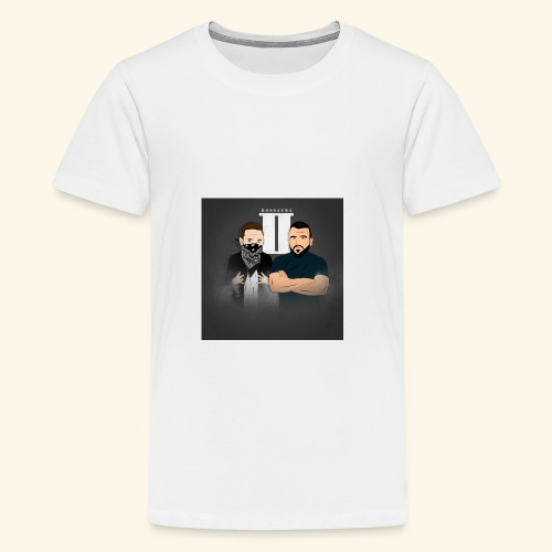 Bossaura 2 Cartoon - Teenager Premium T-Shirt