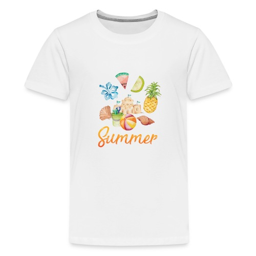 Summer - Teenager Premium T-Shirt