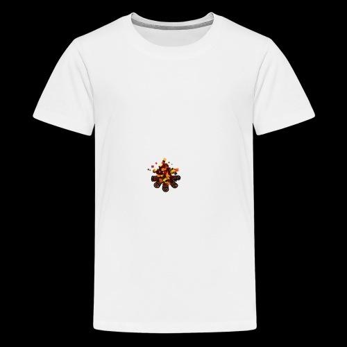Lagerfeuer - Teenager Premium T-Shirt