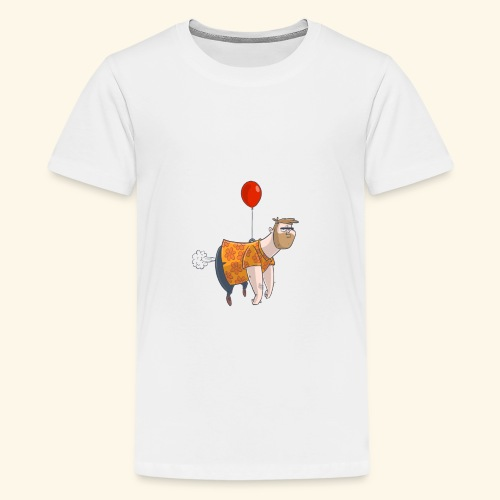 Ballon man - Teenager Premium T-shirt