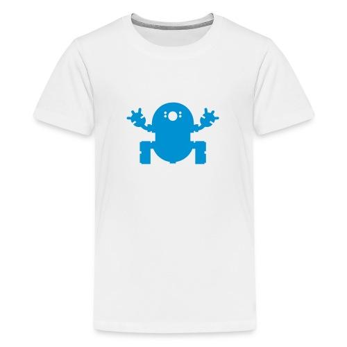 we_want_robots_solo_2 - Teenage Premium T-Shirt