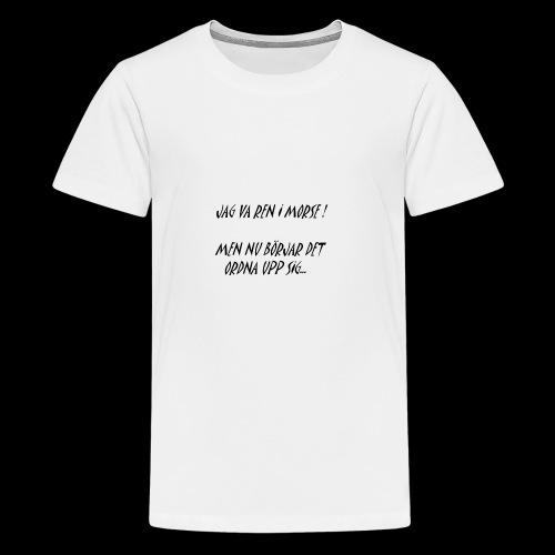 KNODD - Premium-T-shirt tonåring