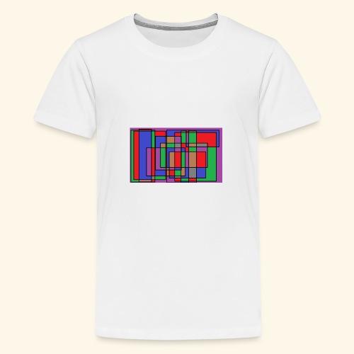 qwe art - Premium-T-shirt tonåring