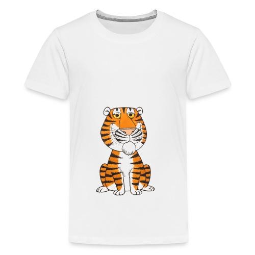 kidscontest Tiger - Teenage Premium T-Shirt