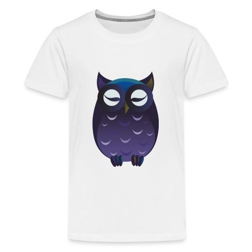 maglietta gufo - Maglietta Premium per ragazzi