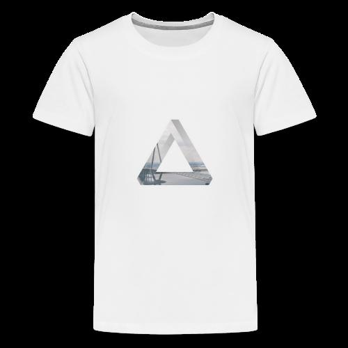 Penrose Brücke - Teenager Premium T-Shirt