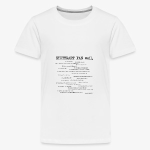 Stuttgart Community Shirt! - Teenager Premium T-Shirt