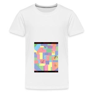 Skogshult Animals - Premium-T-shirt tonåring