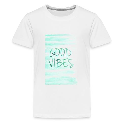 Good Vibes - T-shirt Premium Ado