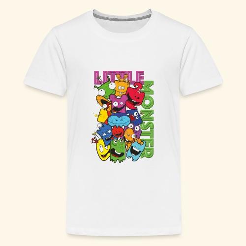 little monster - kleine Monster - Teenager Premium T-Shirt