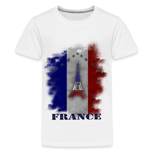 Fandesign Frankreich - Teenager Premium T-Shirt