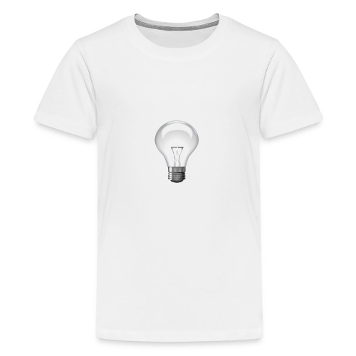 Glühlampe - Teenager Premium T-Shirt