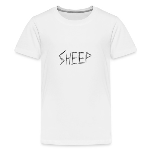 sheep. - Teenage Premium T-Shirt