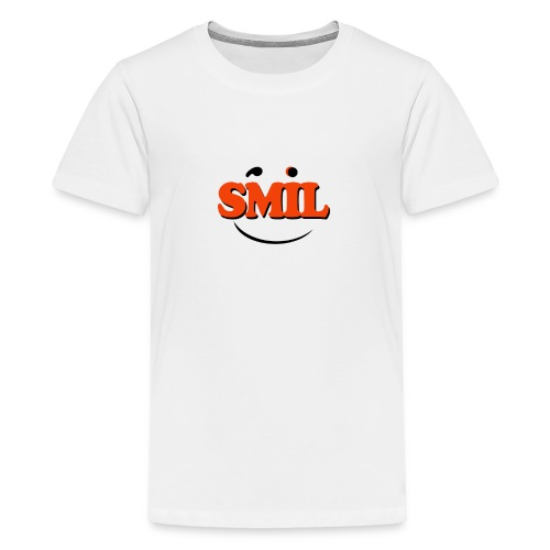 SMIL - Teenager premium T-shirt