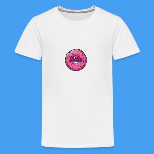 The Lottie Donut Drop! - Teenage Premium T-Shirt