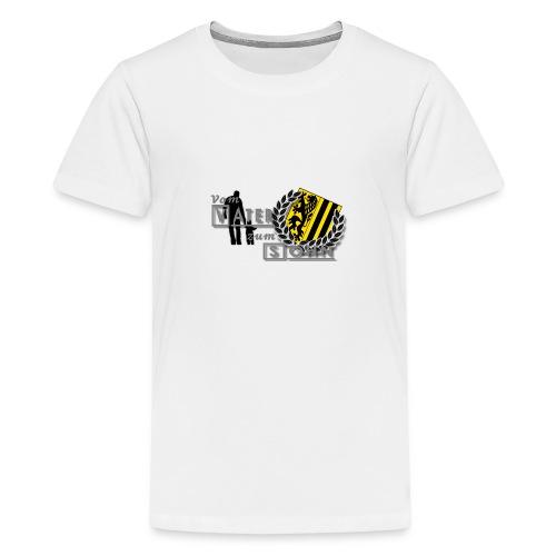 vater und sohn - Teenager Premium T-Shirt