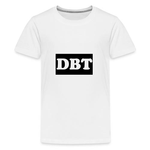 DBT Logo - Teenager Premium T-Shirt