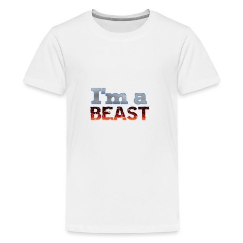 IMABEAST - Teenage Premium T-Shirt