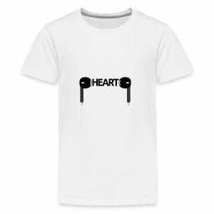 ListenToYourHeart - Koszulka młodzieżowa Premium