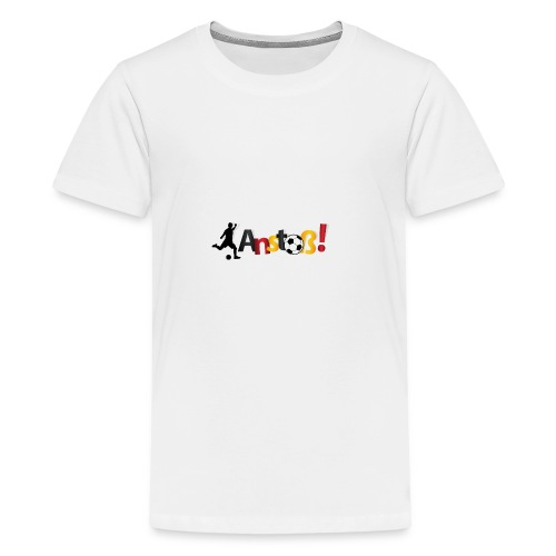 Anstoß - Teenager Premium T-Shirt