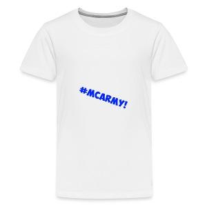 ABMC #MCARMY! - Teenage Premium T-Shirt