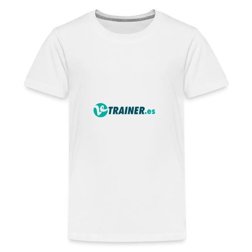 VTRAINER.es - Camiseta premium adolescente