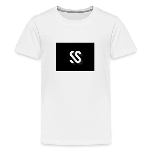 image - Premium T-skjorte for tenåringer