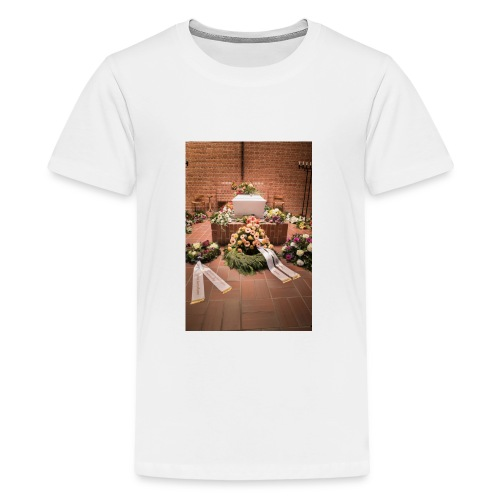 Begravelse - Teenager premium T-shirt
