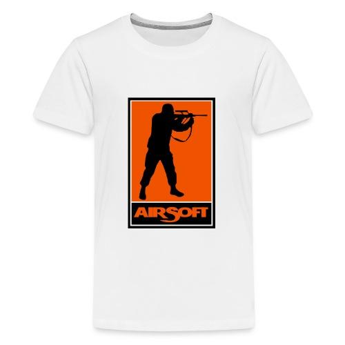 airsoft - Camiseta premium adolescente