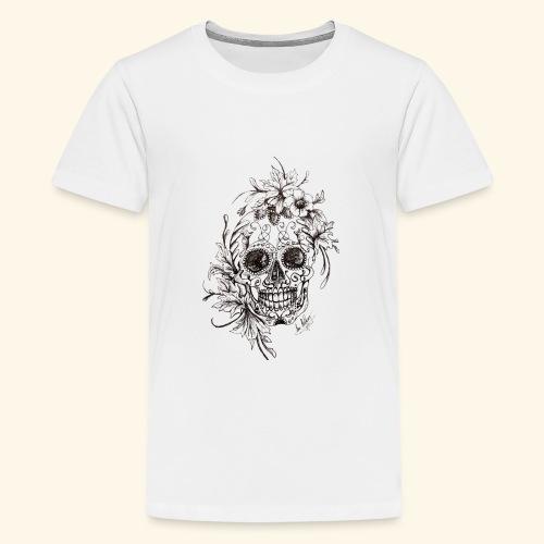 SkullDrawings - Premium-T-shirt tonåring